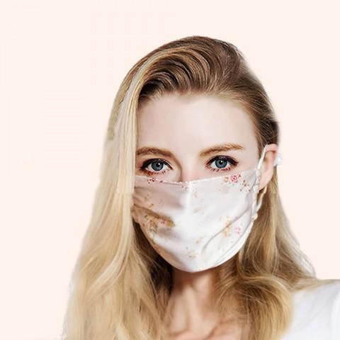 Masque en Soie FLORAL