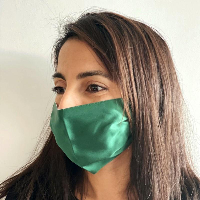 100% silk face mask